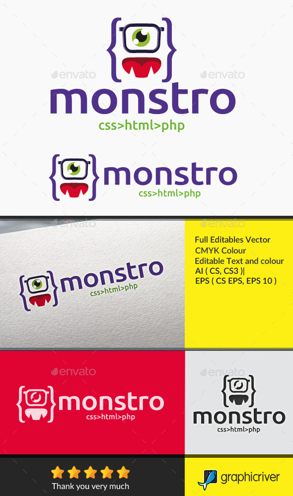 GraphicRiver monster code 10524253