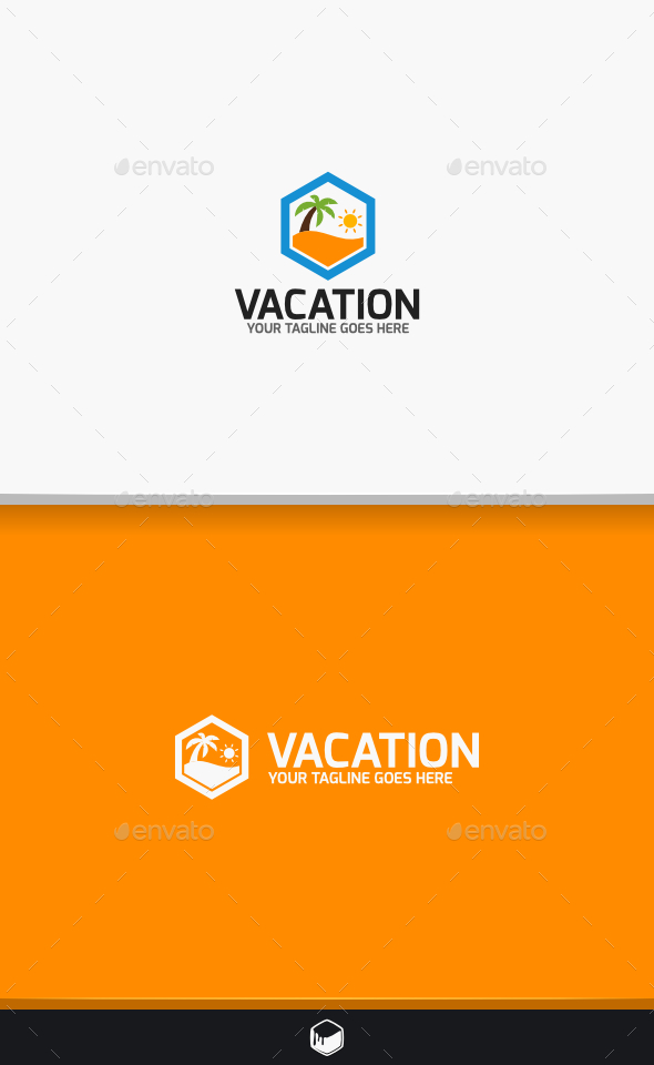 GraphicRiver Vacation Logo 10524262