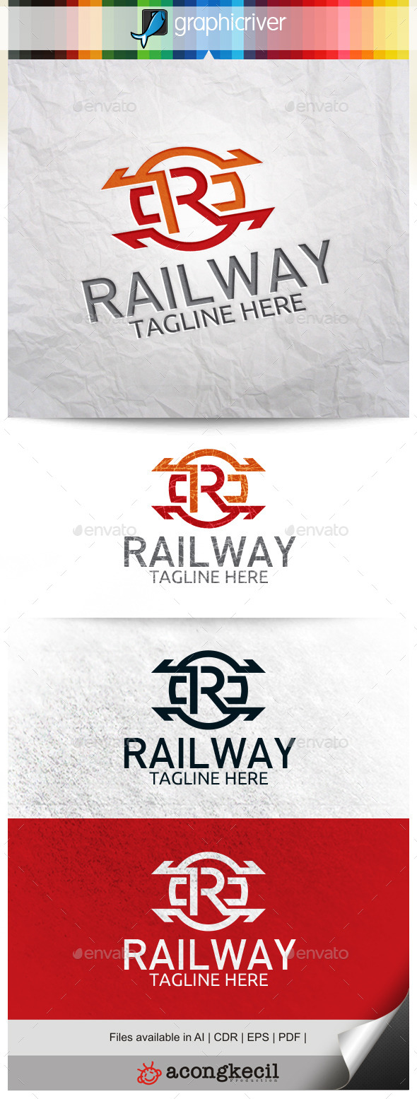 GraphicRiver Railways 10524264