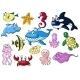 Cartoon Sea Animals - GraphicRiver Item for Sale
