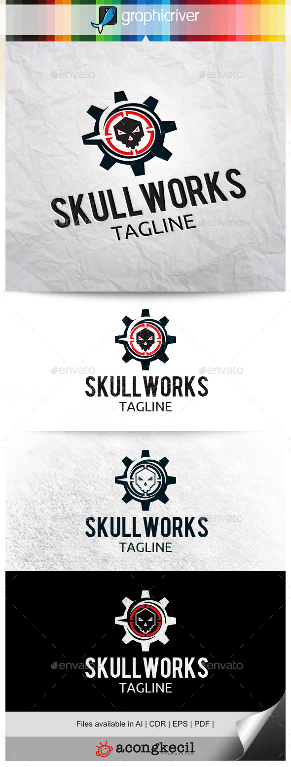 GraphicRiver Skull Work 10524277
