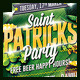 Saint Patricks Party Flyer - GraphicRiver Item for Sale