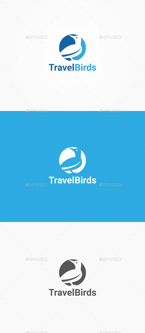 GraphicRiver Travel Bird 10524397