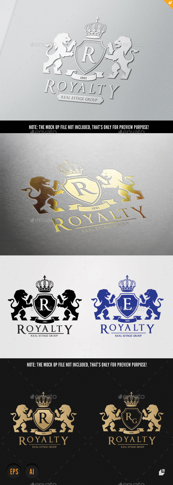 GraphicRiver Royalty Real Estate 10524787