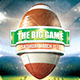 The Big Football Game Flyer - GraphicRiver Item for Sale