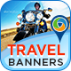 Travel Banners - GraphicRiver Item for Sale