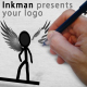 Inkman presents your logo (AE project) - VideoHive Item for Sale