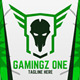 Gamingz One Logo - GraphicRiver Item for Sale