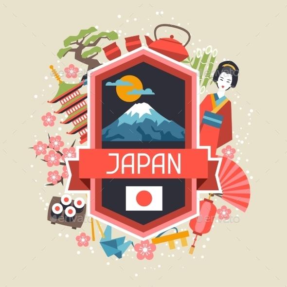 GraphicRiver Japan Background Design 10525178