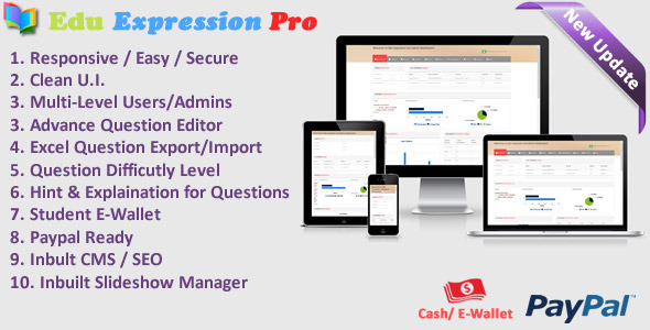 CodeCanyon Edu Expression Online Examination System Pro 10525230