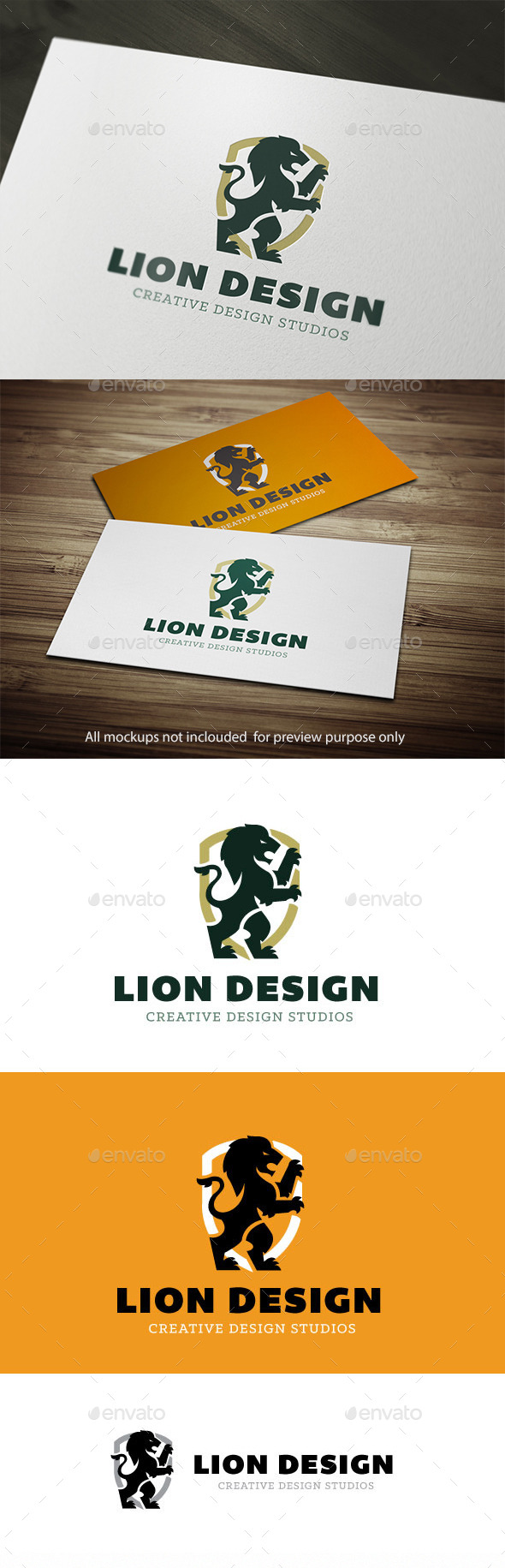 GraphicRiver Lion Logo 10525434