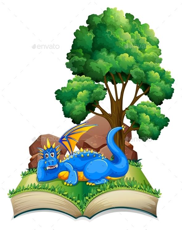 GraphicRiver Dragon Book 10525606