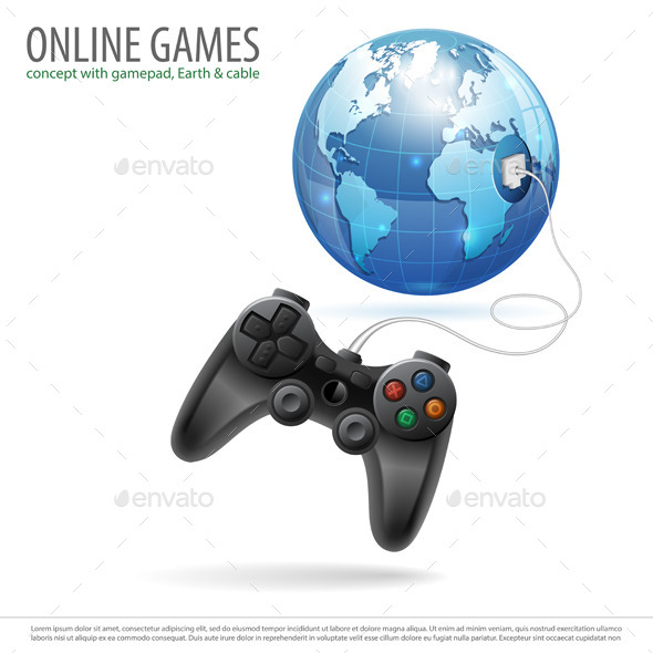 GraphicRiver Online Games 10525630