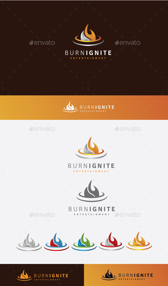 GraphicRiver Burn Ignite Logo 10525654