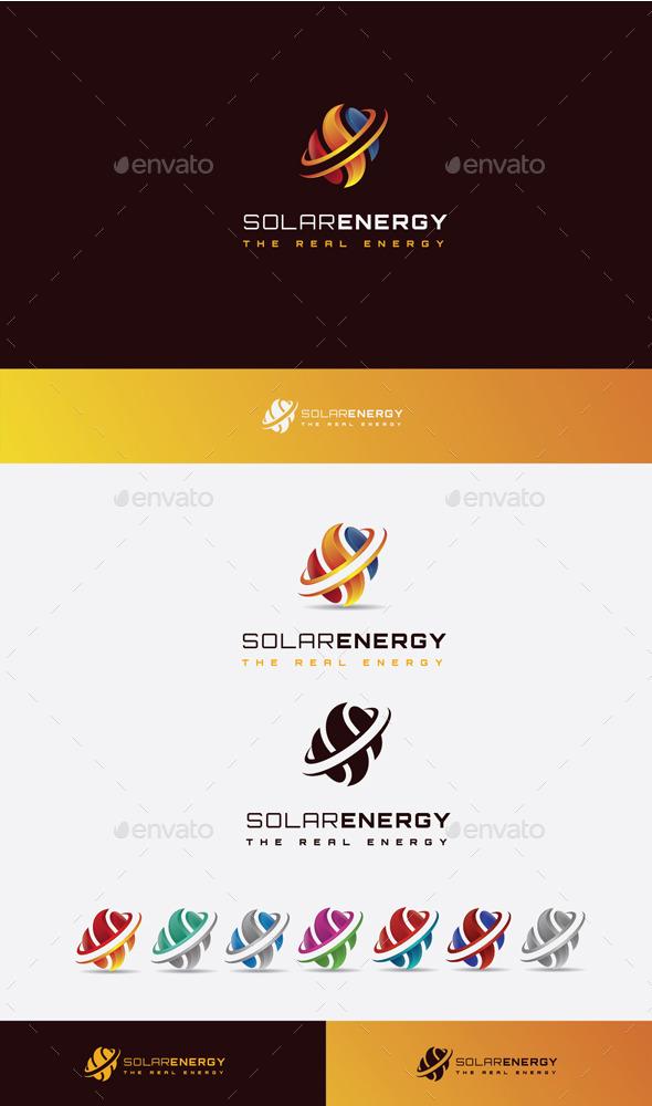 GraphicRiver Solar Energy Logo 10525672
