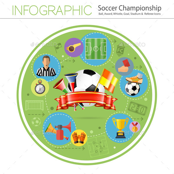GraphicRiver Soccer Infographics 10525685