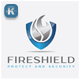 Fire Shield Logo - GraphicRiver Item for Sale