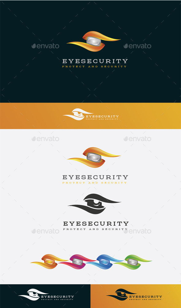 GraphicRiver Eye Security Logo 10525724