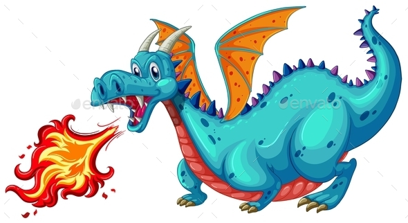 GraphicRiver Dragon 10525733