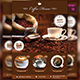 Coffee Flyer Template - GraphicRiver Item for Sale