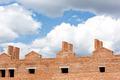 Development construction site under cloudy sky - PhotoDune Item for Sale