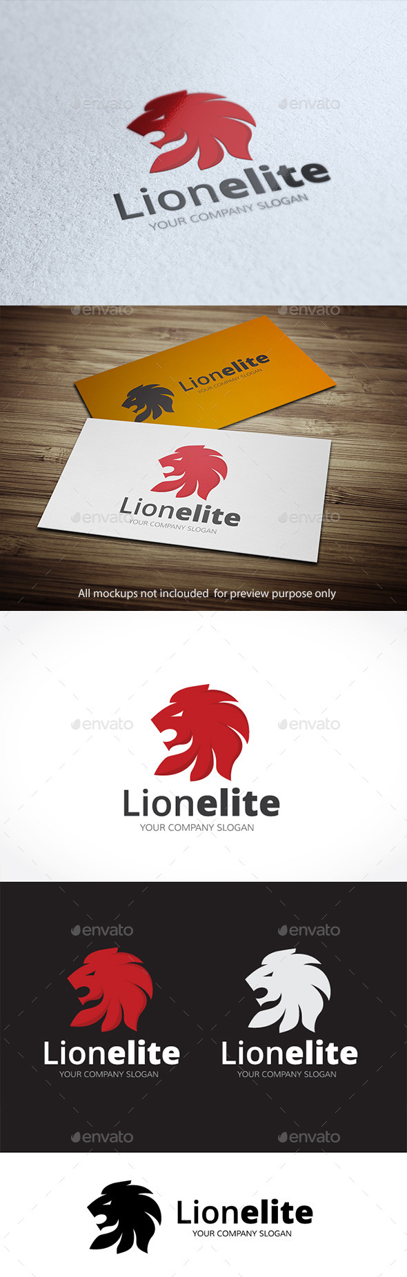 GraphicRiver Lion Elite 10525915