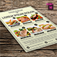 Food Flyer Template - GraphicRiver Item for Sale