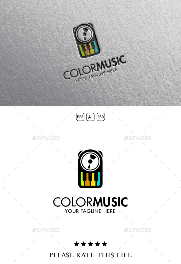 GraphicRiver Music Logo 10525953