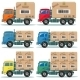 Truck for Delivery Set - GraphicRiver Item for Sale
