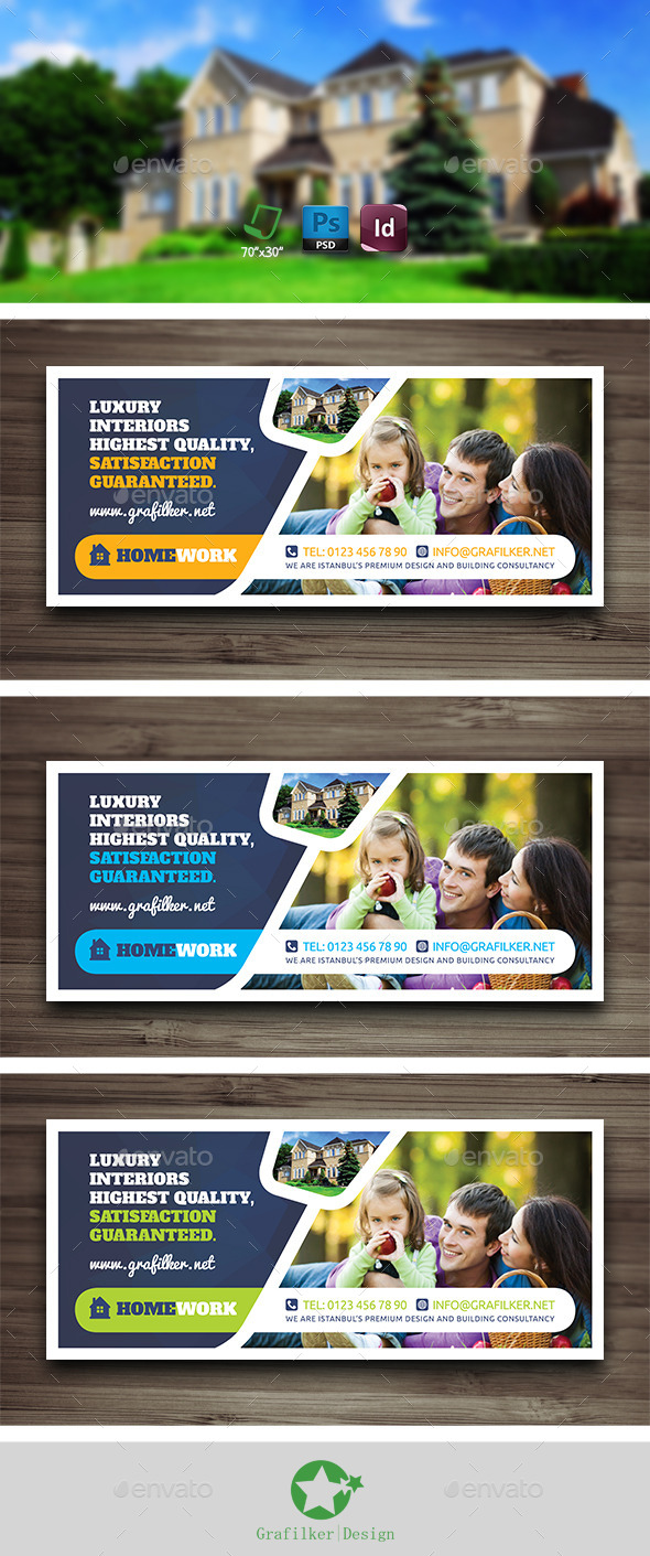 GraphicRiver Real Estate Billboard Templates 10525986