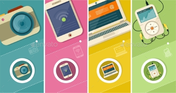 GraphicRiver Set of Modern Devices 10525989