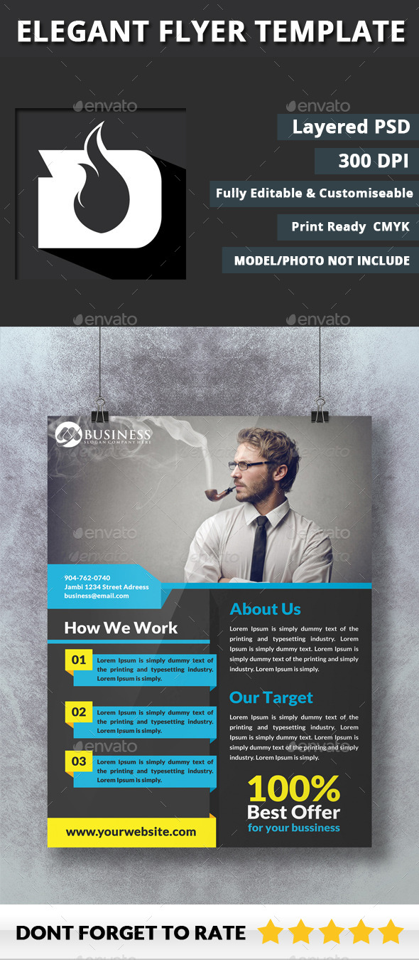 GraphicRiver Flyer Template 1.7 10526233