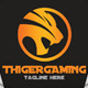 Thiger Gaming Logo - GraphicRiver Item for Sale