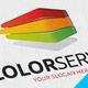 Color Server Logo - GraphicRiver Item for Sale