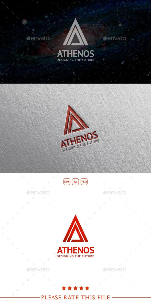 GraphicRiver A Letter Logo 10526302