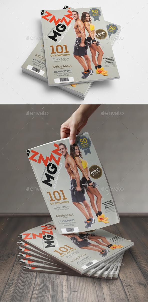 GraphicRiver Magazine Cover Template 10481651