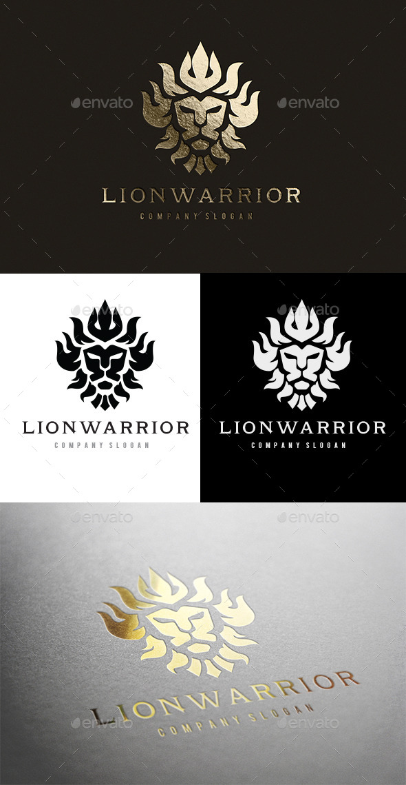 GraphicRiver Lion Warrior 10526344