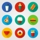 Fast Food Icons - GraphicRiver Item for Sale