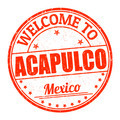 Welcome to Acapulco stamp - PhotoDune Item for Sale