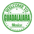 Welcome to Guadalajara stamp - PhotoDune Item for Sale