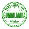 Welcome to Guadalajara stamp - PhotoDune Item for Sale