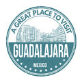 Guadalajara stamp - PhotoDune Item for Sale