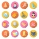 Allergy Icons - GraphicRiver Item for Sale