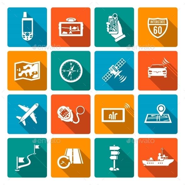 GraphicRiver Navigation Icons 10526518