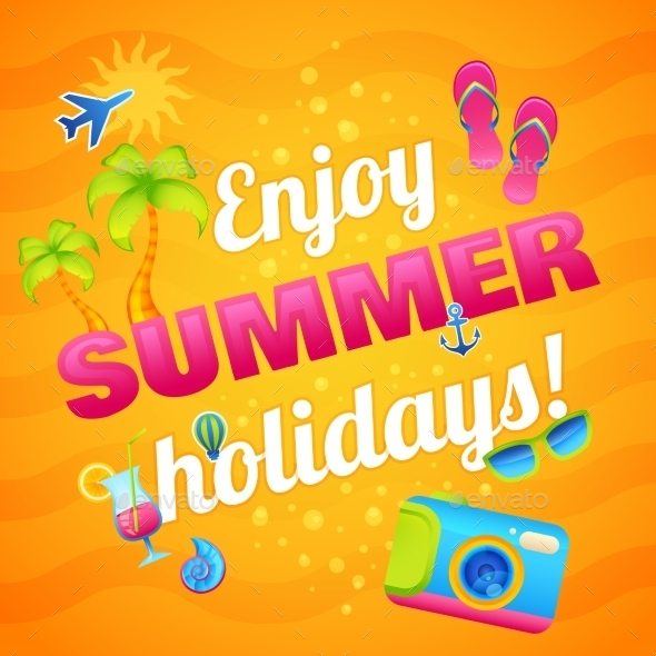 GraphicRiver Summer Vacation Poster 10526529