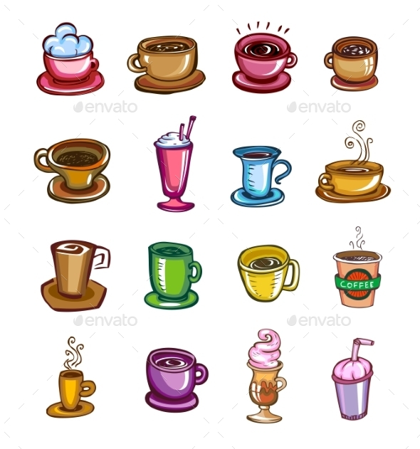 GraphicRiver Types of Coffee 10526538