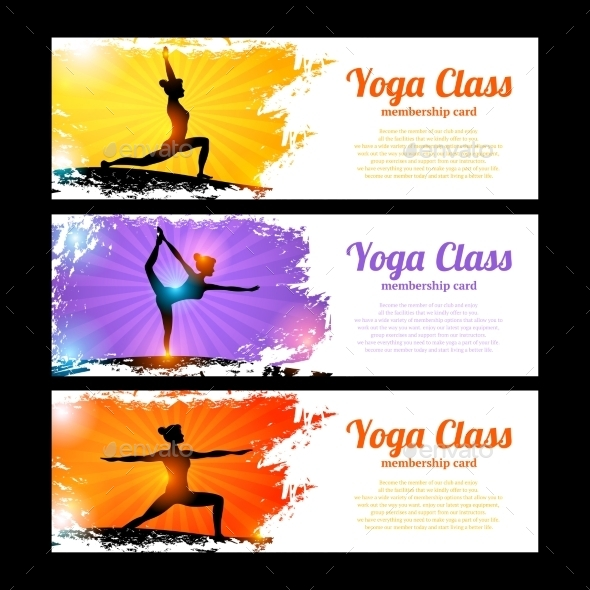GraphicRiver Yoga Banner Set 10526546