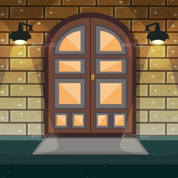 GraphicRiver Home Entrance Door 10526612