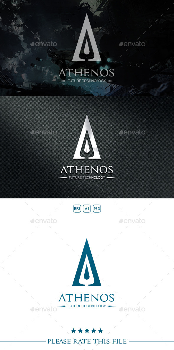 GraphicRiver A Letter Logo 10526665