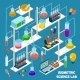 Isometric Science Lab - GraphicRiver Item for Sale